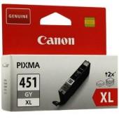 Картридж оригинальный Canon CLI-451XL GY, Grey