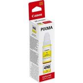 Чернила оригинальные Canon GI-490 Y, Yellow