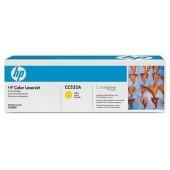 Картридж совместимый HP CC532A Yellow
