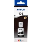 Чернила оригинальные Epson C13T00Q140, 105 EcoTank Ink Bottle, Black
