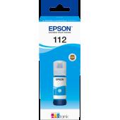 Чернила оригинальные Epson C13T06C24A, 112 EcoTank Ink Bottle, Cyan