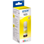 Чернила оригинальные Epson T00S44A, 103 EcoTank Yellow